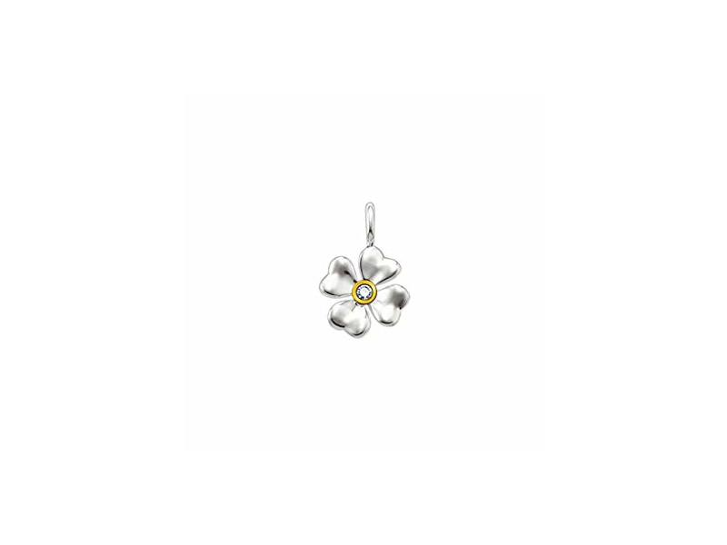 Product standard sd pe0001 179 14   thomas sabo   ts silver   gold cloverleaf pendants    silver   4051245049893