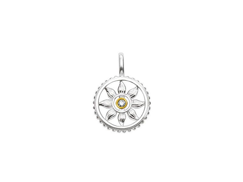 Product standard sd pe0029 179 14   thomas sabo   ts silver sun disk pendants    silver   4051245050172