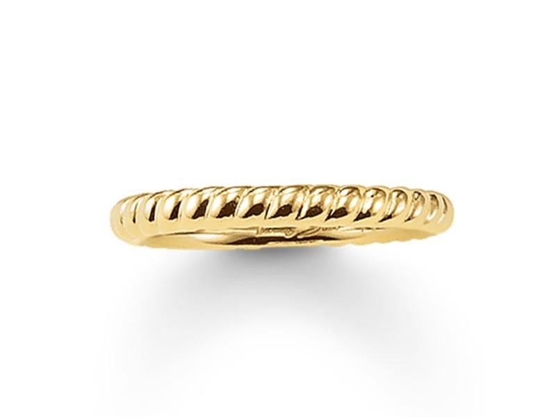 Product standard tr1978 413 12 54   thomas sabo   ts gold twist ring    gold   4051245089752