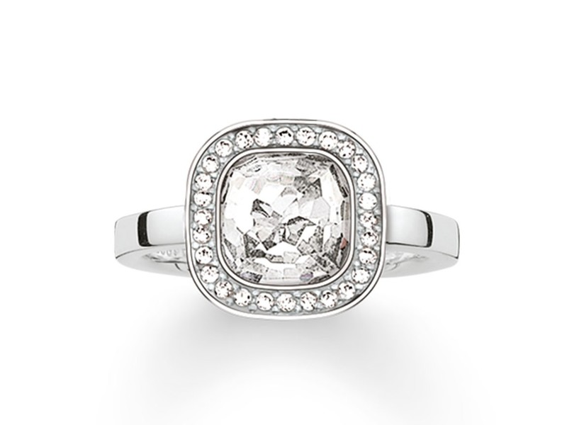 Product standard tr2029 051 14 54   thomas sabo   ts silver   cz cosmo ring    silver   4051245133264
