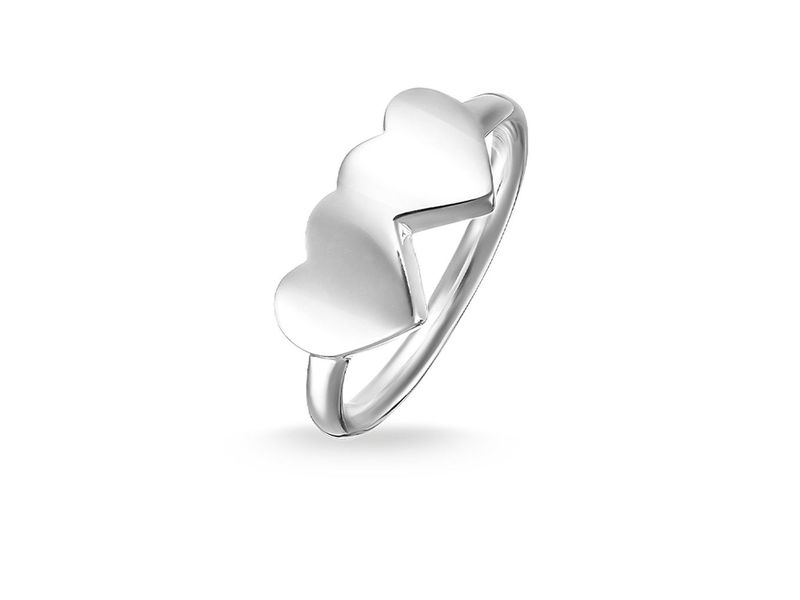 cecfad54b Product standard tr2081 001 12 54 thomas sabo ts silver double heart ring  silver 4051245195743