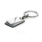 Fourth Avenue Stainless Steel Two Tags Keyring