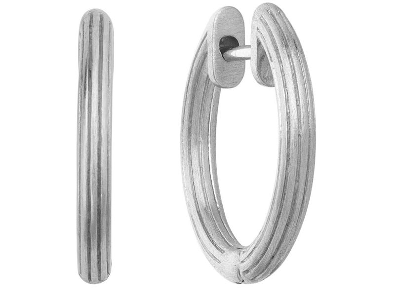 Product standard small isal hoops by biehl silver