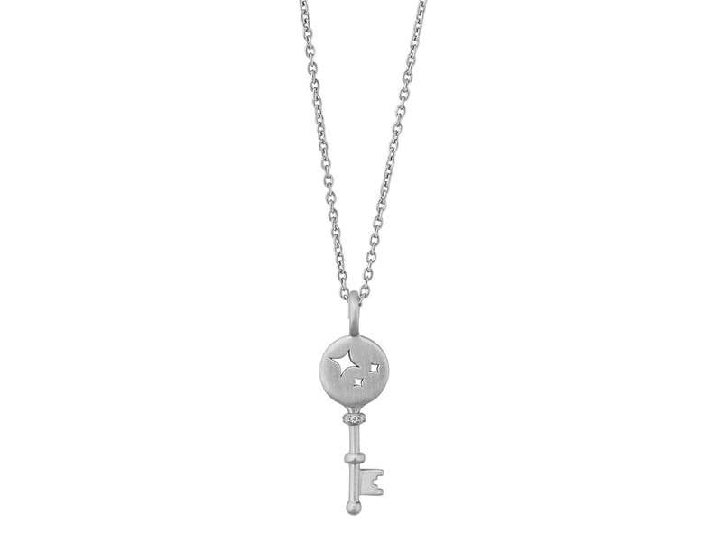 Product standard silver unlock miracles silver necklace bybiehl