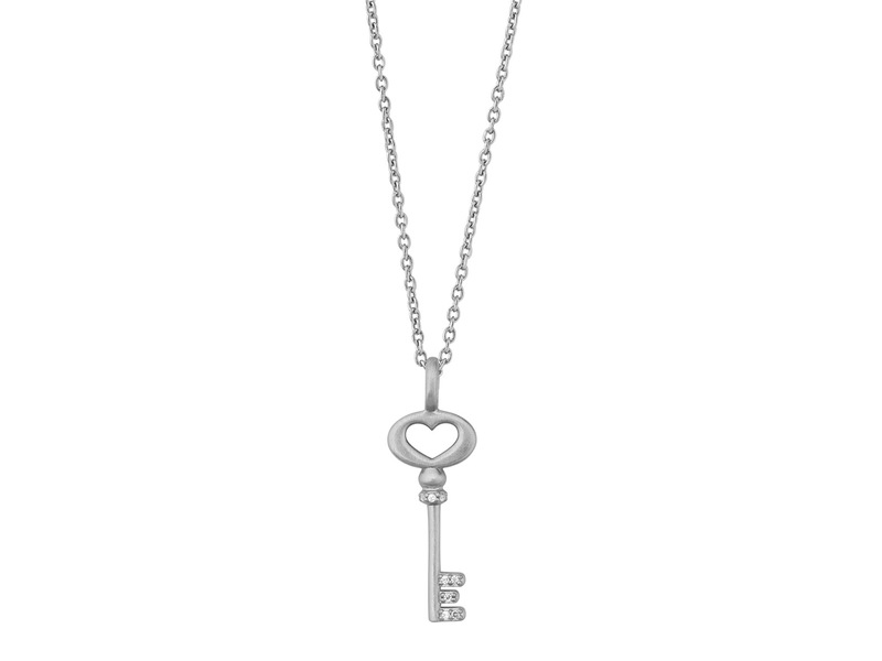 Product standard unlock love necklace silver bybiehl pendant