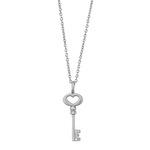 byBiehl Silver Unlock Love Pendant + Chain