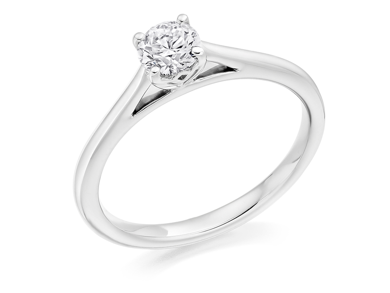 Product standard x2e2m0e6g5mt09   9ct gold 0.40ct brilliant diamond ring   diamond   solitaire   white gold   princess   how to buy engagement ring   best ring   perfect