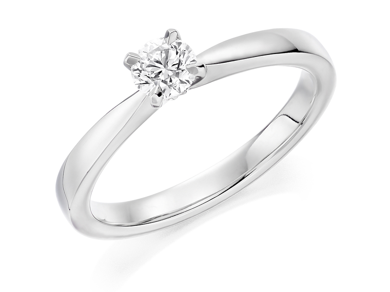 Product standard x2e3m1e4g9mt09   9ct gold 0.30ct brilliant diamond ring   diamond   solitaire   white gold   princess   fancy   dipples   engagement ring   perfect   best ring   norwich