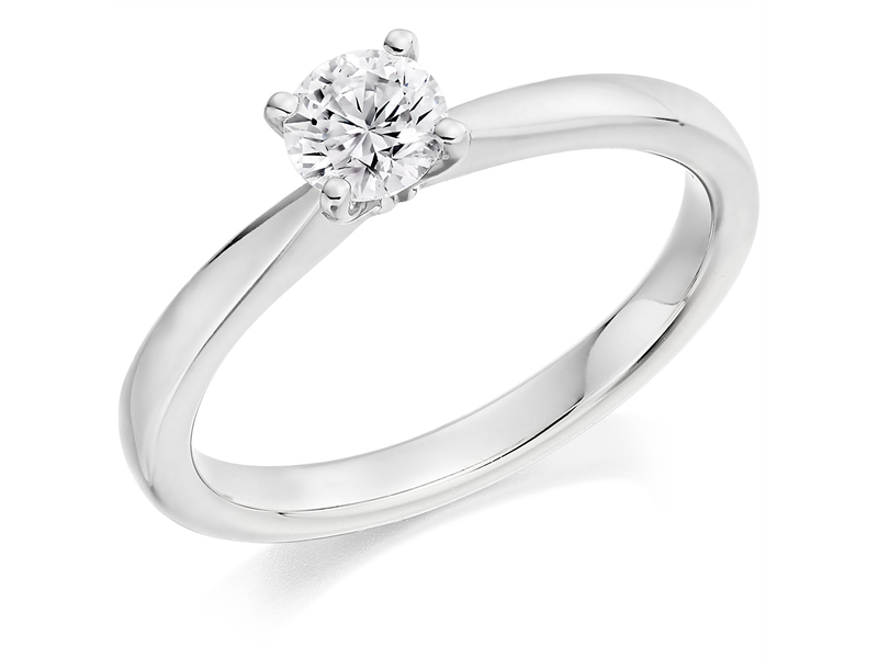 Product standard x2e3m1e5g2mt09   9ct gold 0.59ct brilliant diamond ring   diamond   solitaire   white gold   princess   fancy   dipples   engagement ring   perfect   best ring   norwich