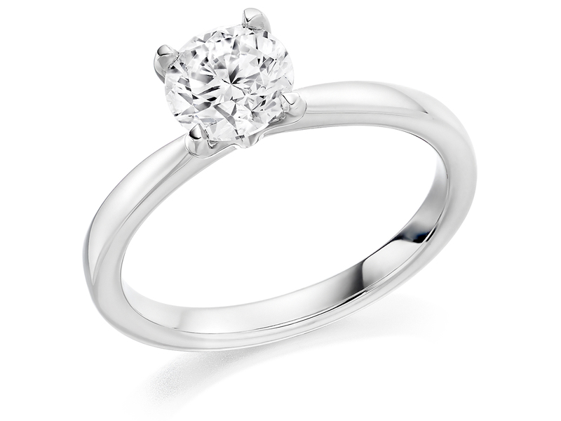 Product standard x2e3m1e5g3mt09   9ct gold 0.70ct brilliant diamond ring   diamond   solitaire   white gold   princess   fancy   dipples   engagement ring   perfect   best ring   norwich