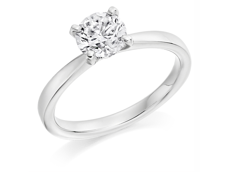 Product standard x2e3m1e5g5mt09   9ct gold 1.01ct brilliant diamond ring   diamond   solitaire   white gold   norwich engagement   uk   perfect ring   good value   outlet