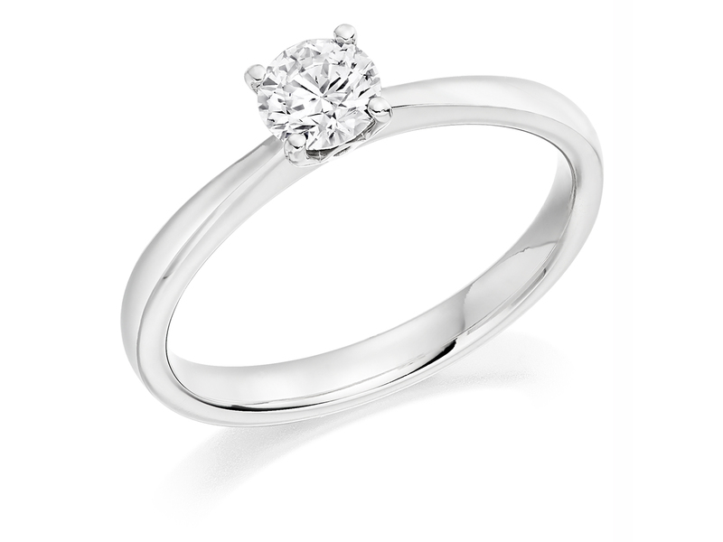 Product standard x2e3m1e6g7mt09   9ct gold 0.40ct brilliant diamond ring   diamond   solitaire   white gold   norwich engagement   uk   perfect ring   good value   outlet