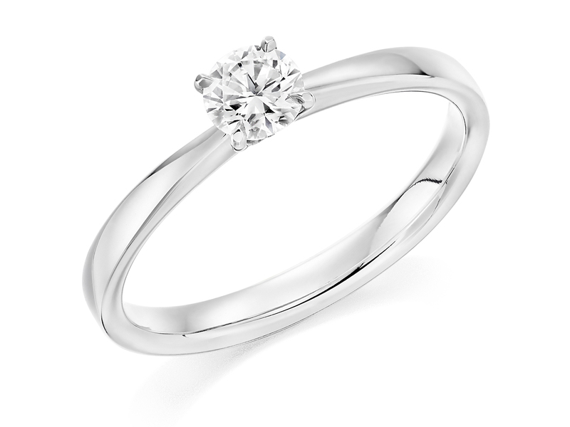 Product standard x2e3m1e6g8mt09   9ct gold 0.51ct brilliant diamond ring   diamond   solitaire   white gold   norwich engagement   uk   perfect ring   good value   outlet