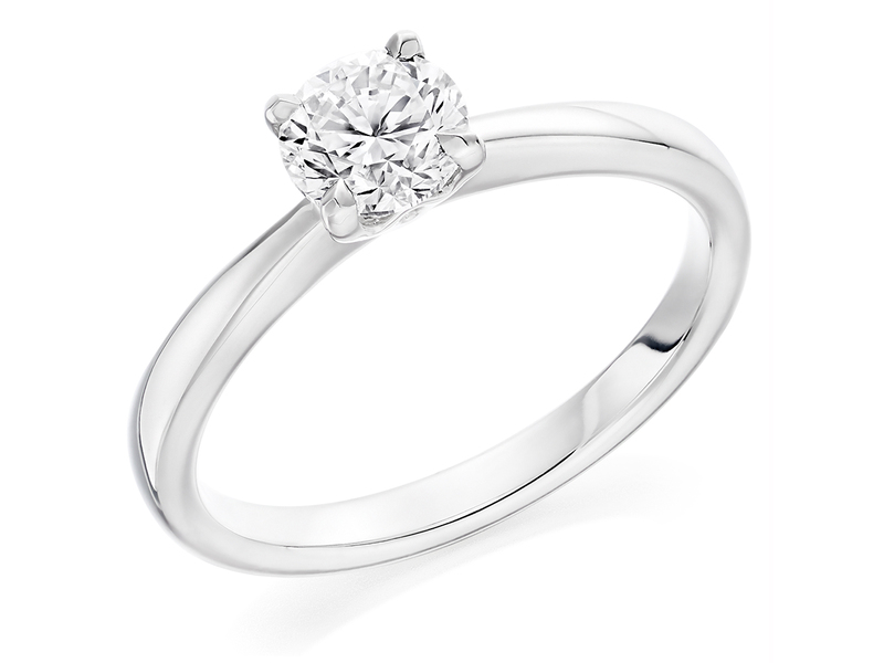 Product standard x2e3m1e6g9mt09   9ct gold 0.59ct brilliant diamond ring   diamond   solitaire   white gold   norwich engagement   uk   perfect ring   good value   outlet