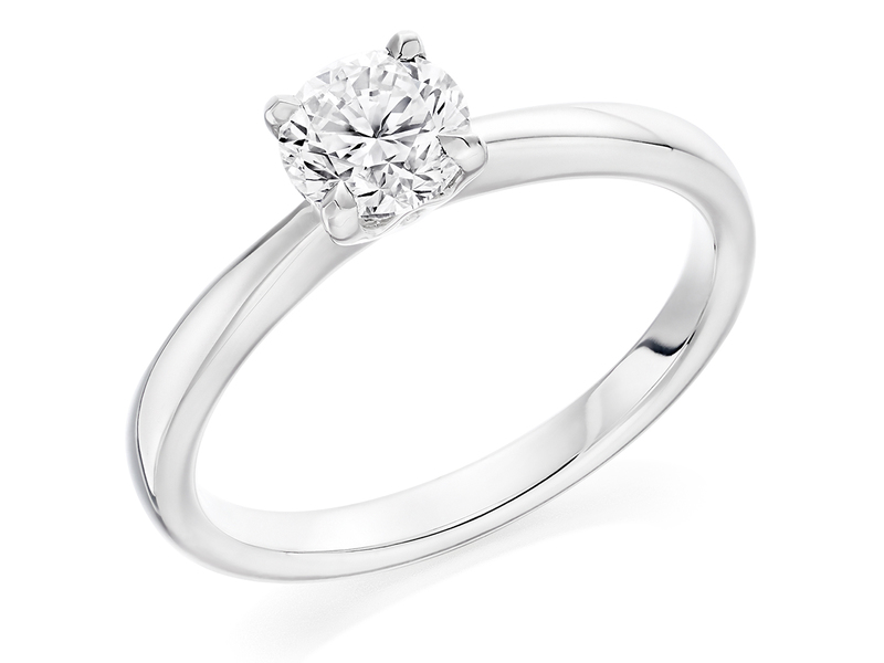 Product standard x2e3m1e7g0mt09   9ct gold 0.70ct brilliant diamond ring   diamond   solitaire   white gold   norwich engagement   uk   perfect ring   good value   outlet