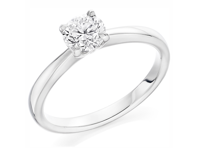 Product standard x2e3m1e7g2mt09   9ct gold 1.01ct brilliant diamond ring   diamond   solitaire   white gold   unique   windsor bishop   precious   quality   promise  engagement ring