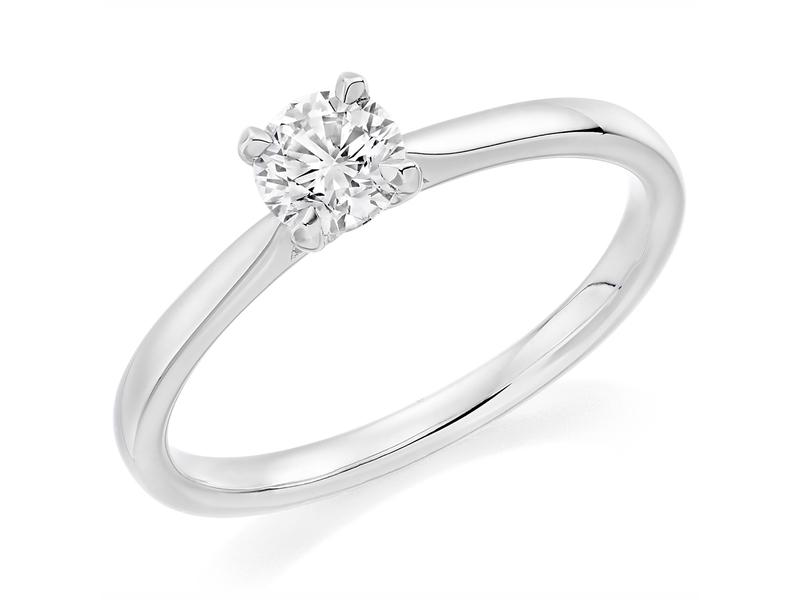 Product standard x2e4m2e7g4mt09   9ct gold 0.70ct brilliant diamond ring   diamond   solitaire   white gold   unique   windsor bishop   precious   quality   promise  engagement ring