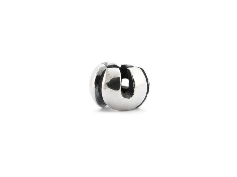 Product standard trollbeads silver i luv u bead   5711246021180   troll beads   outlet   tagbe 10027