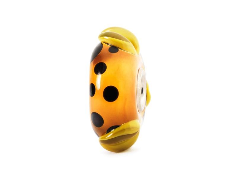 Product standard trollbeads orange pod bead   5711246021401   troll beads   outlet   tglbe 10165