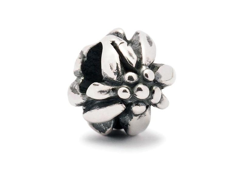 Product standard trollbeads mountain flower bead    5711246014281   troll beads   outlet   tagbe 10012