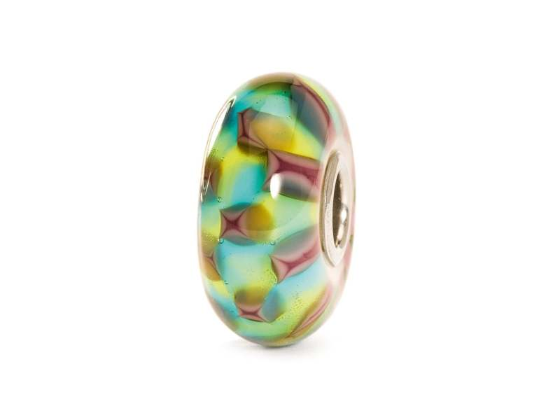 Product standard trollbeads turquoise purple chess bead   5711246007771   troll beads   outlet   tglbe 10242