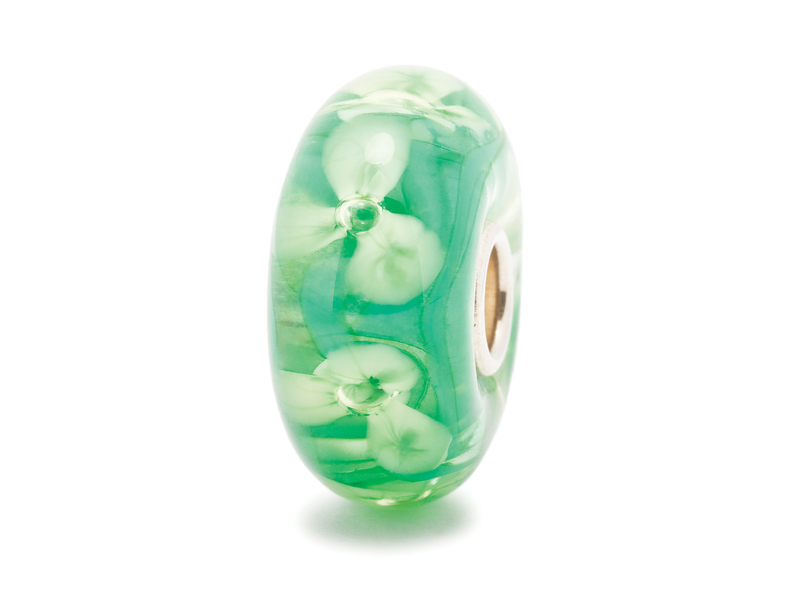 Product standard trollbeads forest anemone bead   5711246014052   troll beads   outlet   tglbe 10126