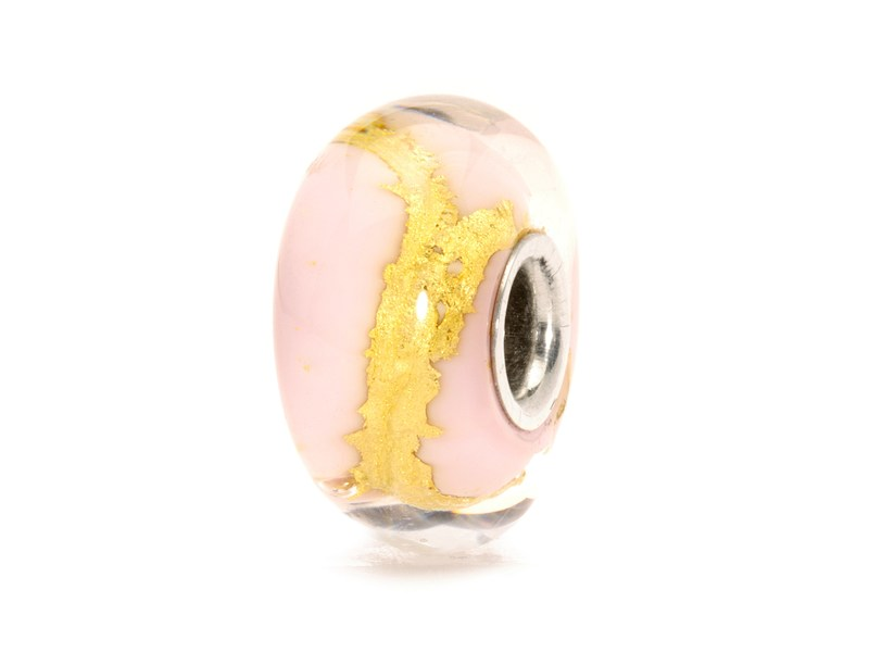 Product standard trollbeads pink gold bead   5711246008754   troll beads   outlet   tglbe 20051