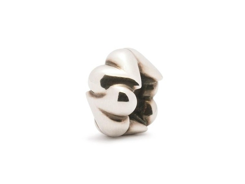 Product standard trollbeads organic heart bead   5711246014335   troll beads   outlet   tagbe 20031
