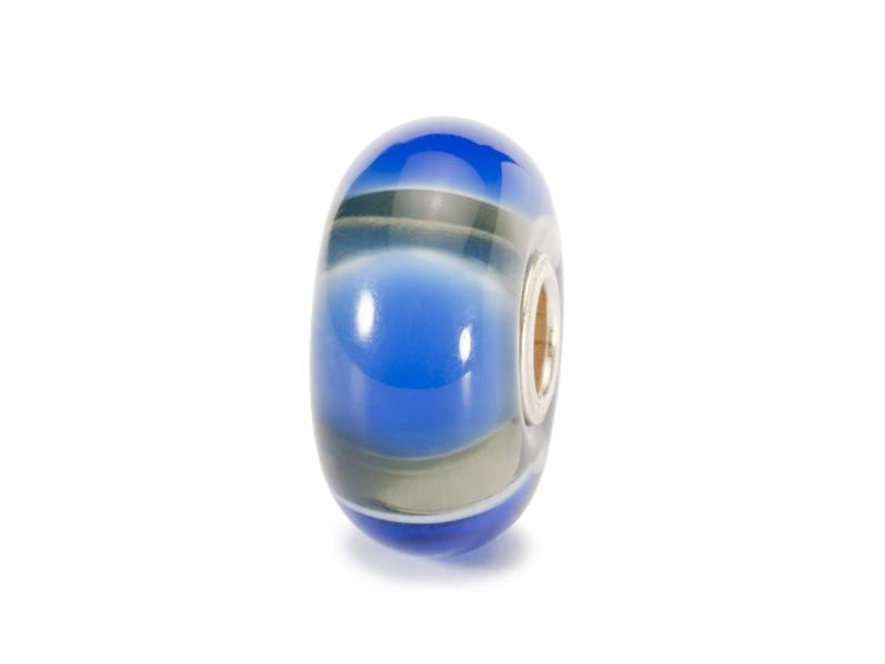 Product standard trollbeads blue symmetry bead   5711246008211   troll beads   outlet   tglbe 10085