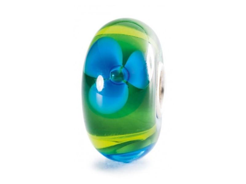 Product standard trollbeads brook flower bead   5711246028585   troll beads   outlet   tglbe 10189
