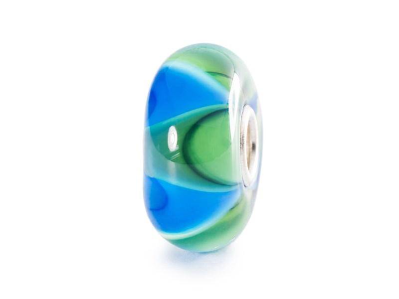 Product standard trollbeads mist ripple bead   5711246028547   troll beads   outlet   tglbe 10193