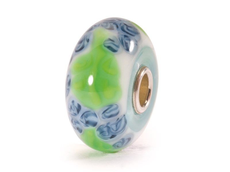 Product standard trollbeads blue flax bead   5711246007856   troll beads   outlet   tglbe 10064