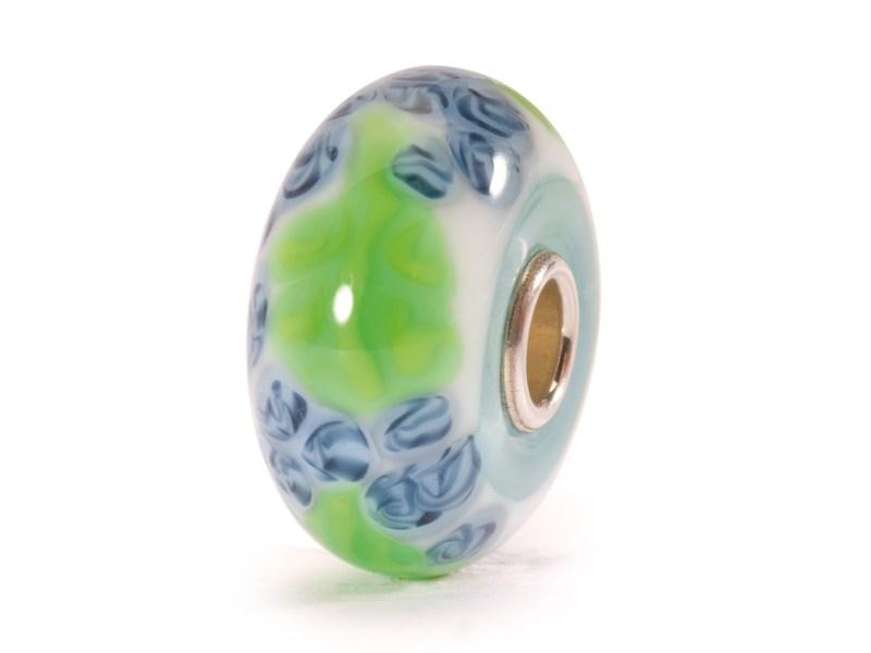 Product standard trollbeads blue flax bead   5711246007856   troll beads   outlet   tglbe 10064