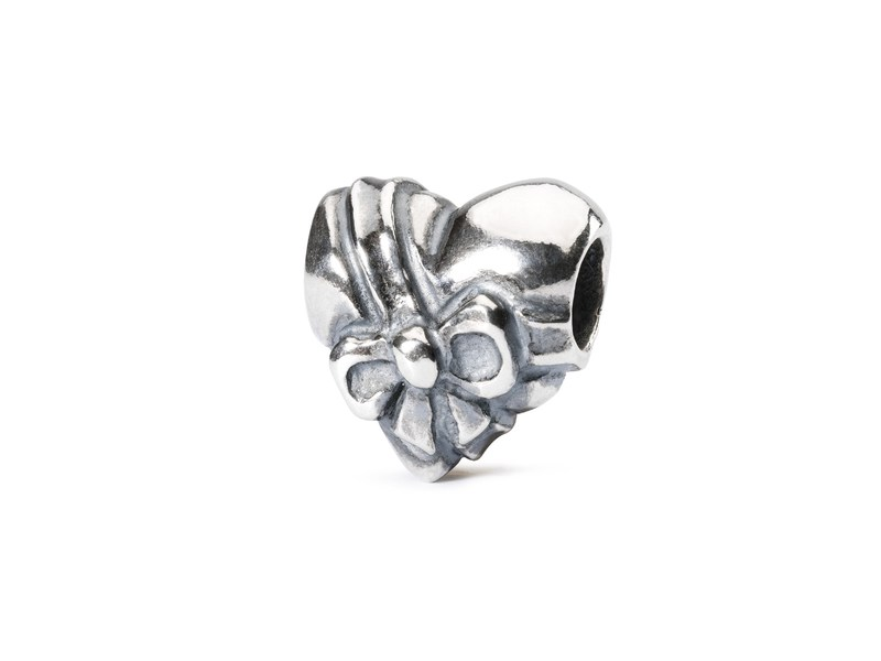 Product standard trollbeads heart bow bead   5711246029599   troll beads   outlet   tagbe 20064