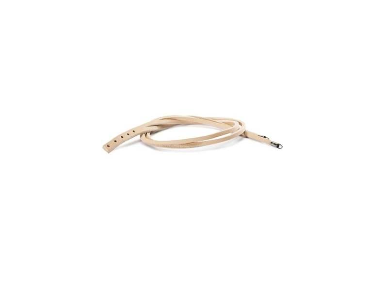 Product standard trollbeads leather bracelet beige    5711246010825   troll beads   outlet   tlebr 00011