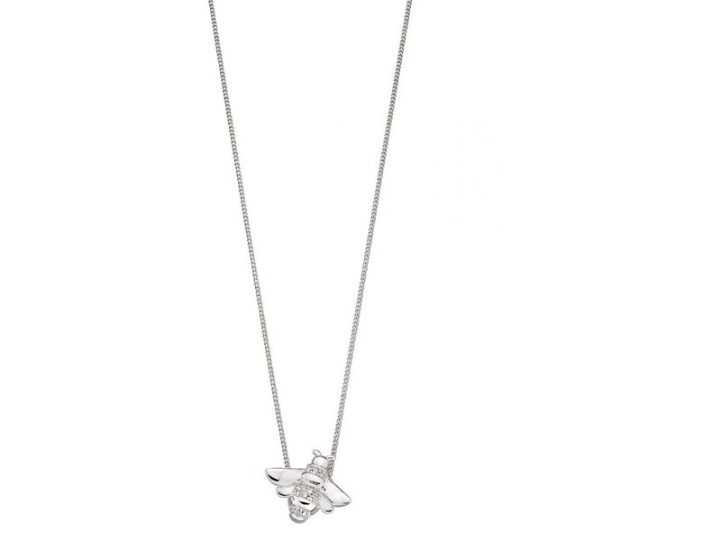 Product standard z1299 cubic zirconia detailed bee pendant