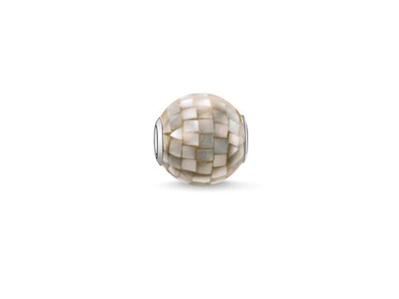 Product standard 2 k0111 029 5   thomas sabo   ts mother of pearl karma bead    silver   4051245129632