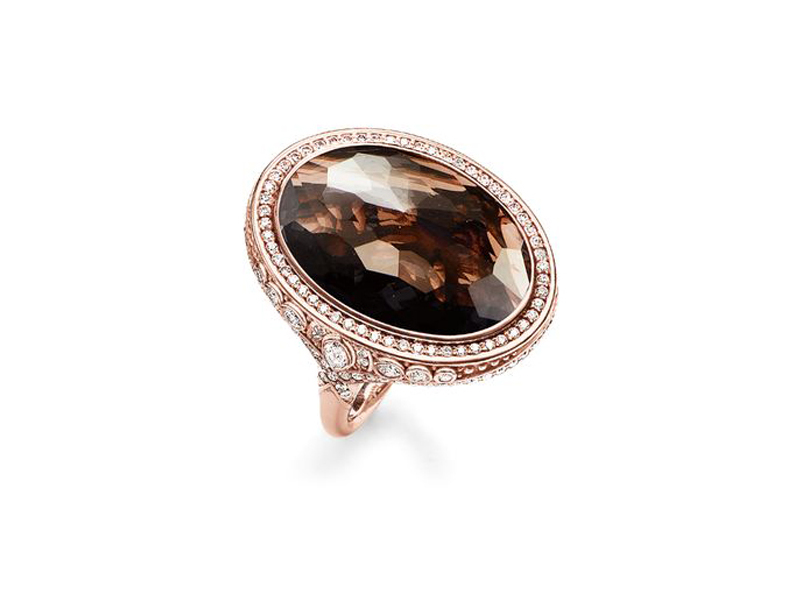 Product standard 2 tr2023 441 2 54   thomas sabo   ts rose gold   cz brown eternity of love ring    rose gold   4051245132007