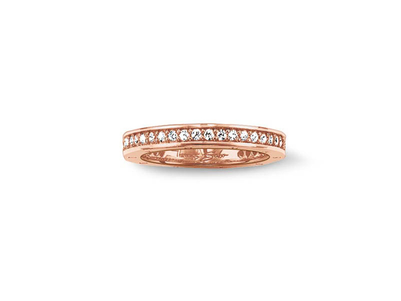 Product standard 2 tr1700 416 14 56   thomas sabo   ts rose gold   cz eternity ring    rose gold   4051245074161