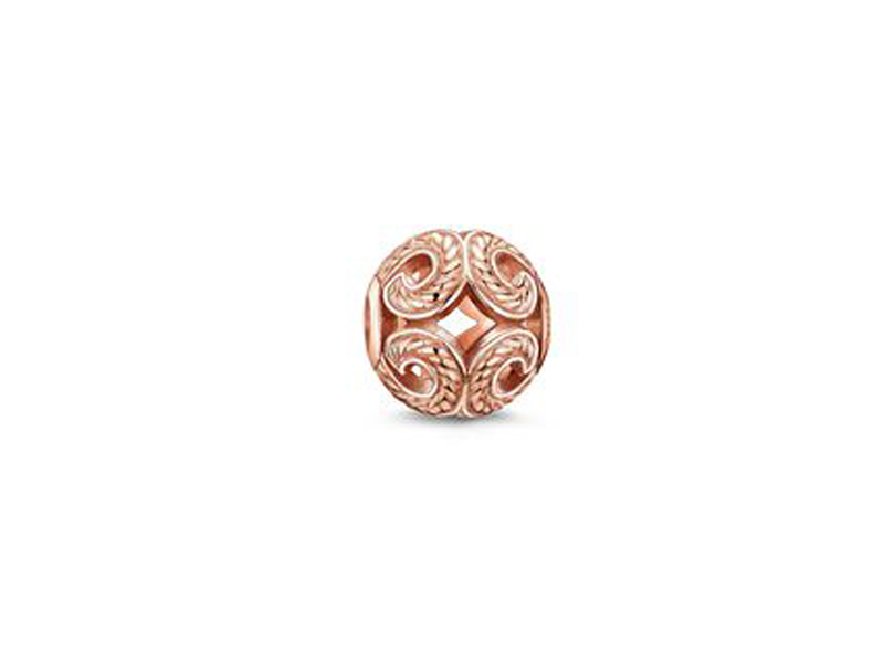 Product standard 2 k0009 415 12   thomas sabo   ts rose gold wave karma bead    rose gold   4051245110906