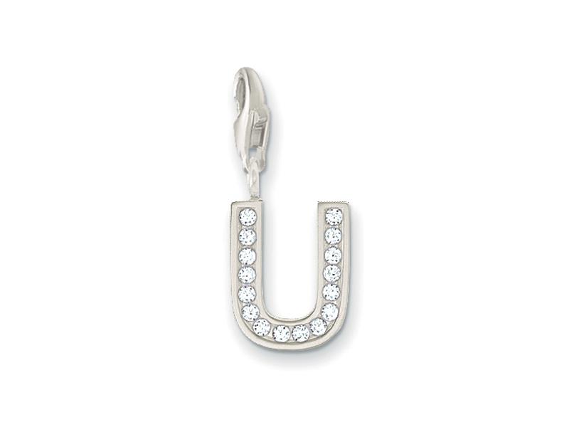 Product standard 2 0243 051 14   thomas sabo   ts silver   cz u charm    silver   9120700894738