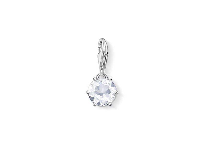 Product standard 2 1257 197 14   thomas sabo   ts silver april birthstone charm    silver   4051245176681