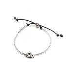 Dog Fever Sterling Silver Poodle Bracelet