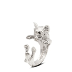 Dog Fever Sterling Silver Chihuahua Ring