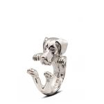 Dog Fever Sterling Silver Great Dane Ring