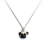 Dog Fever Sterling Silver Pug Pendant Necklace