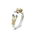 Dog Fever Sterling Silver Labrador Bangle