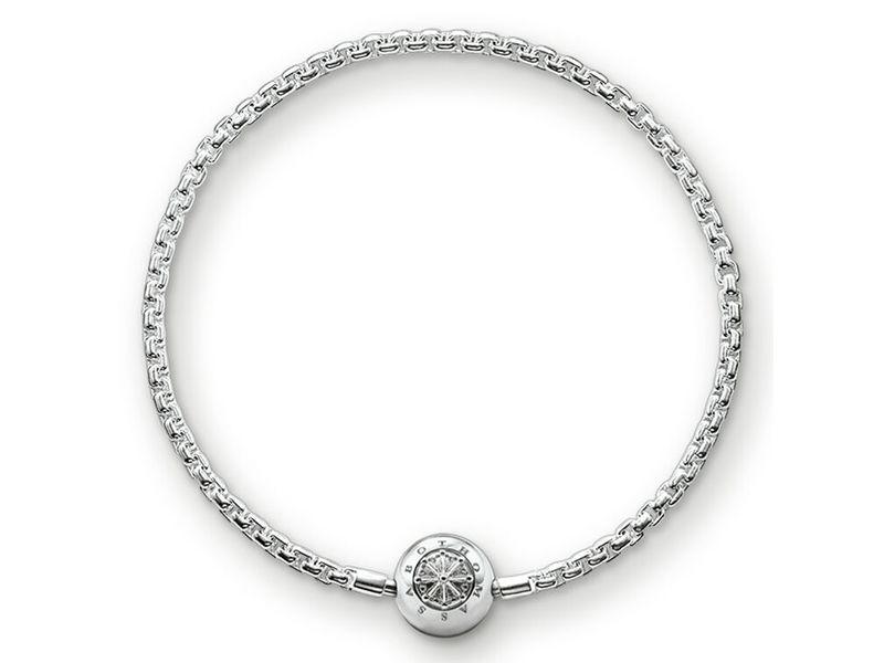 Product standard ka0001 001 12 l20 thomas sabo silver karma charm bracelet 20cm