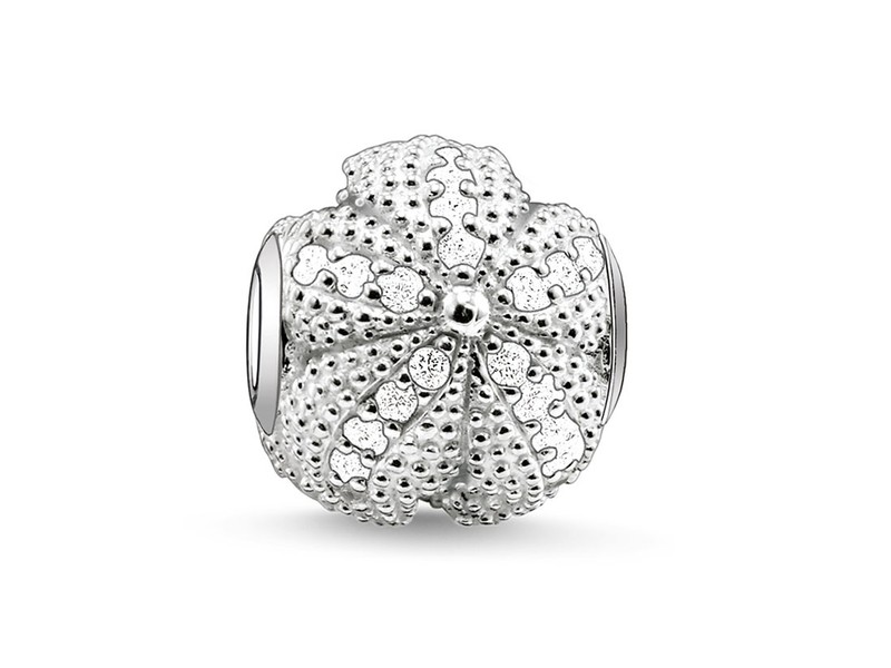 Product standard k0026 051 14 thomas sabo silver cubic zirconia starfish bead