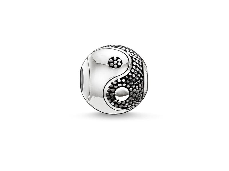 Product standard k0019 001 12 thomas sabo silver yin yang small bead